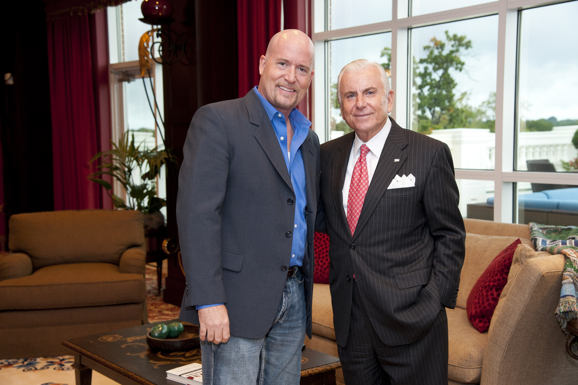 Michael D. Butler and Dr. Nido Qubein