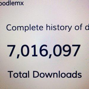 7 million downloads in Daniel