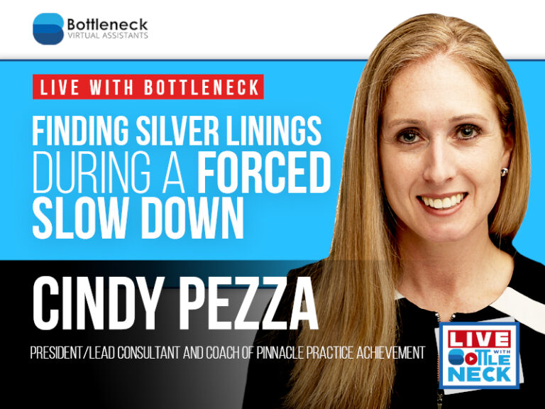 Cindy Pezza: Finding Silver Linings During a Forced Slow Down