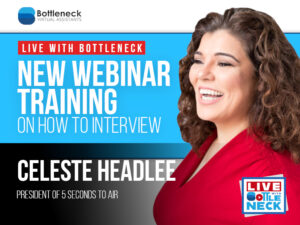 New Webinar Training on How to Interview | Celeste Headlee