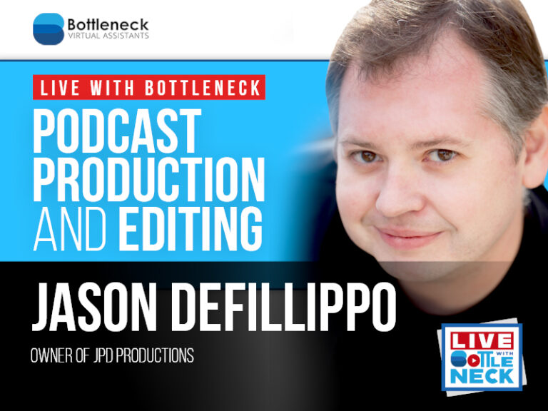 Jason DeFillippo: Podcast Production and Editing