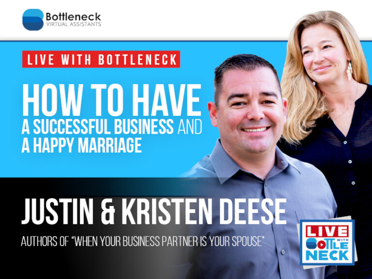 Justin & Kristen Deese: How to Have a Successful Business AND a Happy Marriage