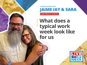 What a Typical Work Week Look Like For Us | AWIR with Jaime and Sara