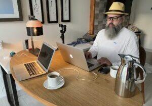Jaime Jay Working Remotely