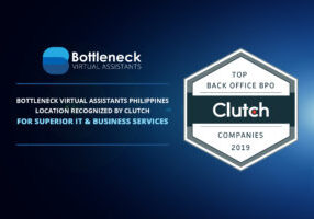 Bottleneck Virtual Assistants Philippines Location Recognized by Clutch for Superior IT and Business Services