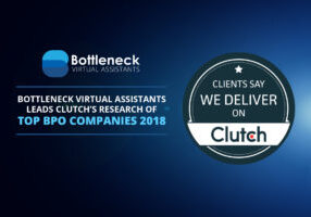 Bottleneck Virtual Assistants Leads Clutch's Research of Top BPO Companies 2018