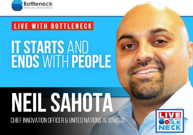 Neil Sahota: It Starts and Ends with People